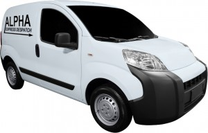 Small Branded Van - About Alpha Express Despatch